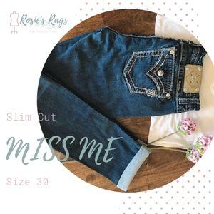 Miss Me Skinny Jean Sz 30